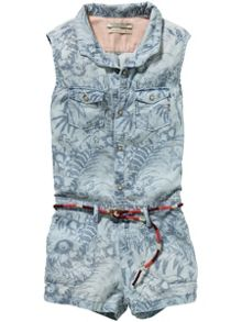 Scotch R'Belle Girls Jumpsuit Short