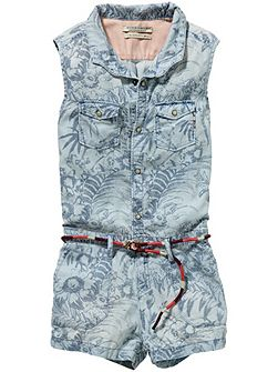 Girls Jumpsuit Short