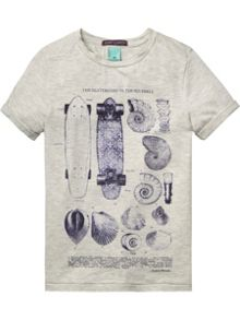 Scotch Shrunk Boys Tee with inspired subtle artworks