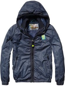 Scotch Shrunk Boys Nylon Jacket & Mesh Lining