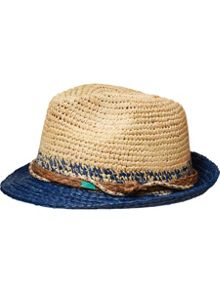 Scotch Shrunk Boys Straw Hat