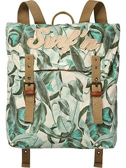 Boys Allover Printed Back Pack