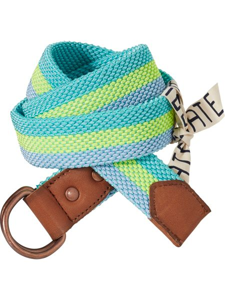 Scotch Shrunk Boys Elastic Belt In Cabana Stripes