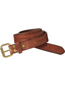 Boys Moulded Leather Belt