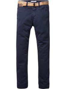 Boys Basic garment dyed chino pants