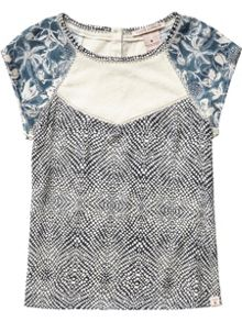 Scotch R'Belle Girls Silky Feel Printed Top