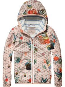 Girls All-Over Photo Printed Jacket