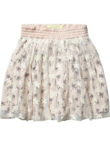 Girls Double Layer Skirt