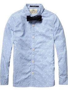 Boys Dressed shirt  with bow tie