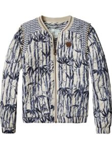 Scotch R'Belle Girls Quilted Printed Jacket