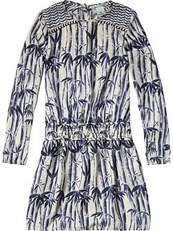 Girls All-Over Printed Dress