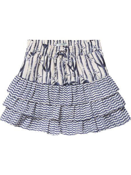 Scotch R'Belle Girls Printed Skirt With Ruffles