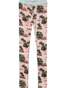 Scotch R'Belle Girls Legging In Colourful Print