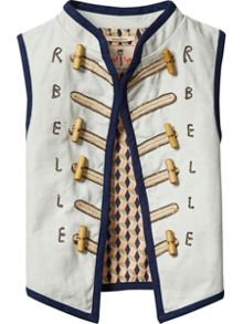 Scotch R'Belle Girls Military Inspired Gilet