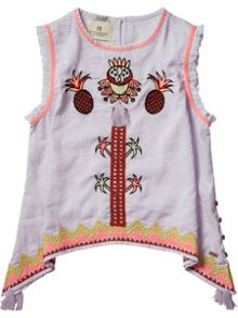 Scotch R'Belle Girls A- Line Woven Top