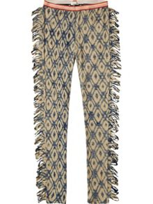 Scotch R'Belle Girls Legging With Fringes