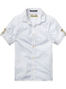Scotch Shrunk Boys Basic Shirt