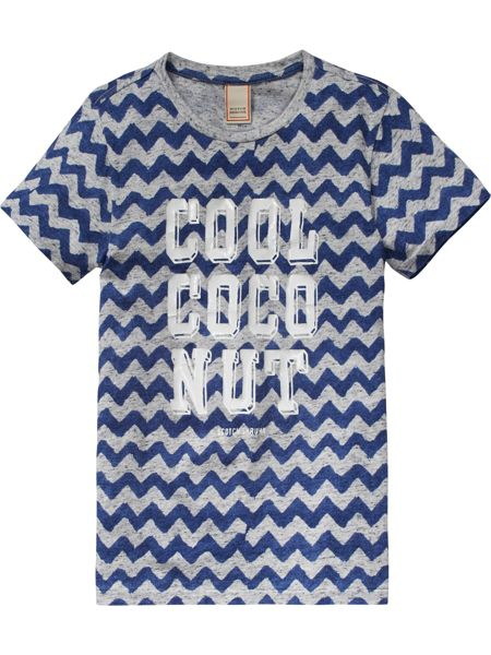 Scotch Shrunk Boys All-Over Printed Tee