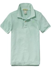 Scotch Shrunk Boys Basic Garment Dyed Polo