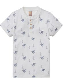 Scotch Shrunk Boys Preppy Printed Polo
