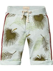 Scotch Shrunk Boys Printed Sweat Shorts