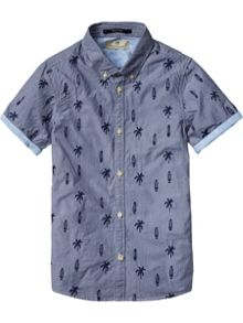Scotch Shrunk Boys Preppy Shirt