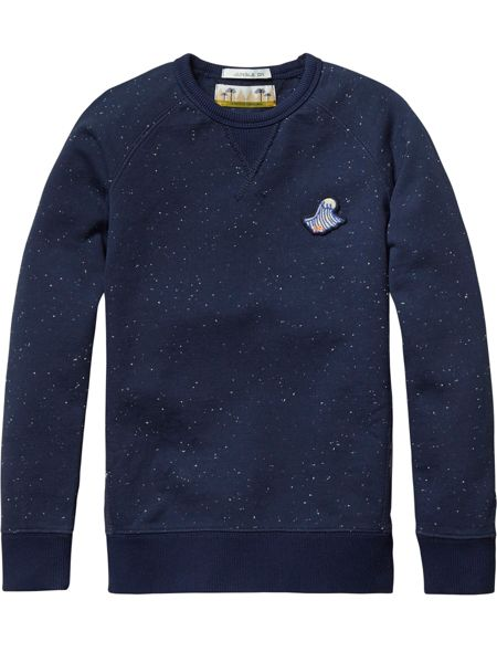 Scotch Shrunk Boys Crew Neck Sweat