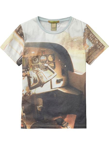 Scotch Shrunk Boys Tee All-Over Photoprint
