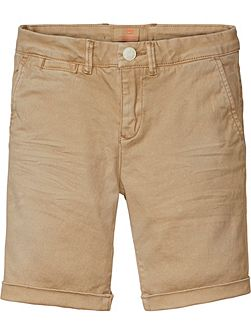 Boys Basic Chino Shorts