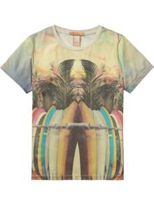 Scotch Shrunk Boys All-Over Photo Printed Tee