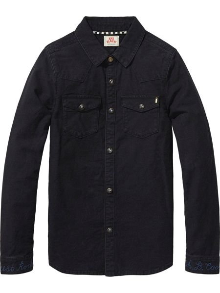 Scotch Shrunk Boys Denim Shirt