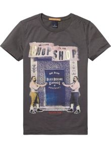 Scotch Shrunk Boys Photo-Print Cotton-Jersey T-Shirt