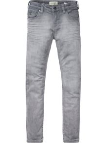 Scotch Shrunk Boys Strummer Faded Skinny-Fit Jeans