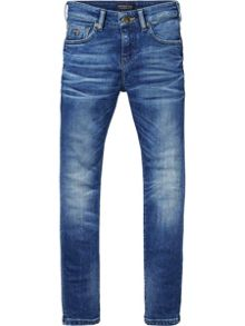 Scotch Shrunk Boys Strummer Skinny-Fit Washed Jeans