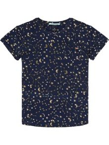 Scotch R'Belle Allover Printed short sleeve Tee