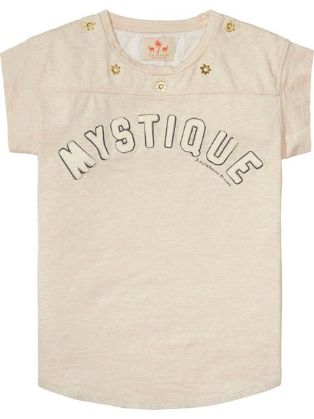 Scotch R'Belle Girls Mystique Cotton-Jersey T-Shirt