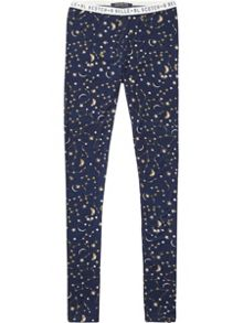 Scotch R'Belle Girls Printed Jersey Leggings
