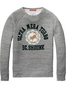 Scotch Shrunk Boys Crew neck sweatshirt