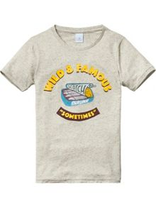 Scotch Shrunk Boys Cotton Artwork T-Shirt