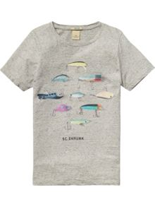 Scotch Shrunk Boys Artworks T-Shirt