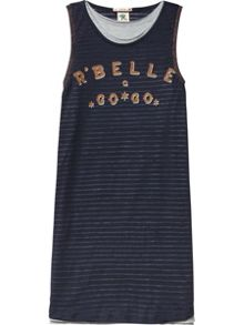 Scotch R'Belle Girls Double layer tank dress