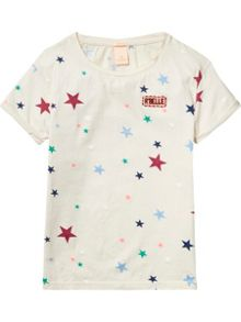 Scotch R'Belle Girls Star T-Shirt