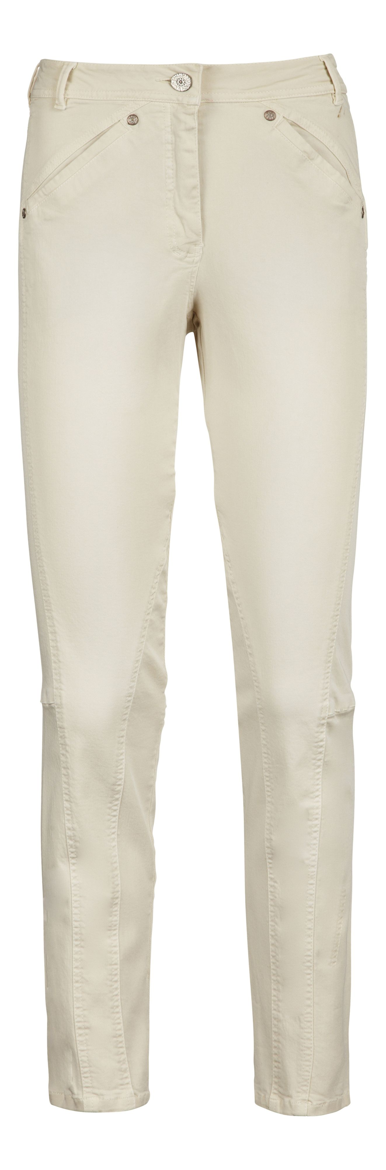 Cotton stretch trouser