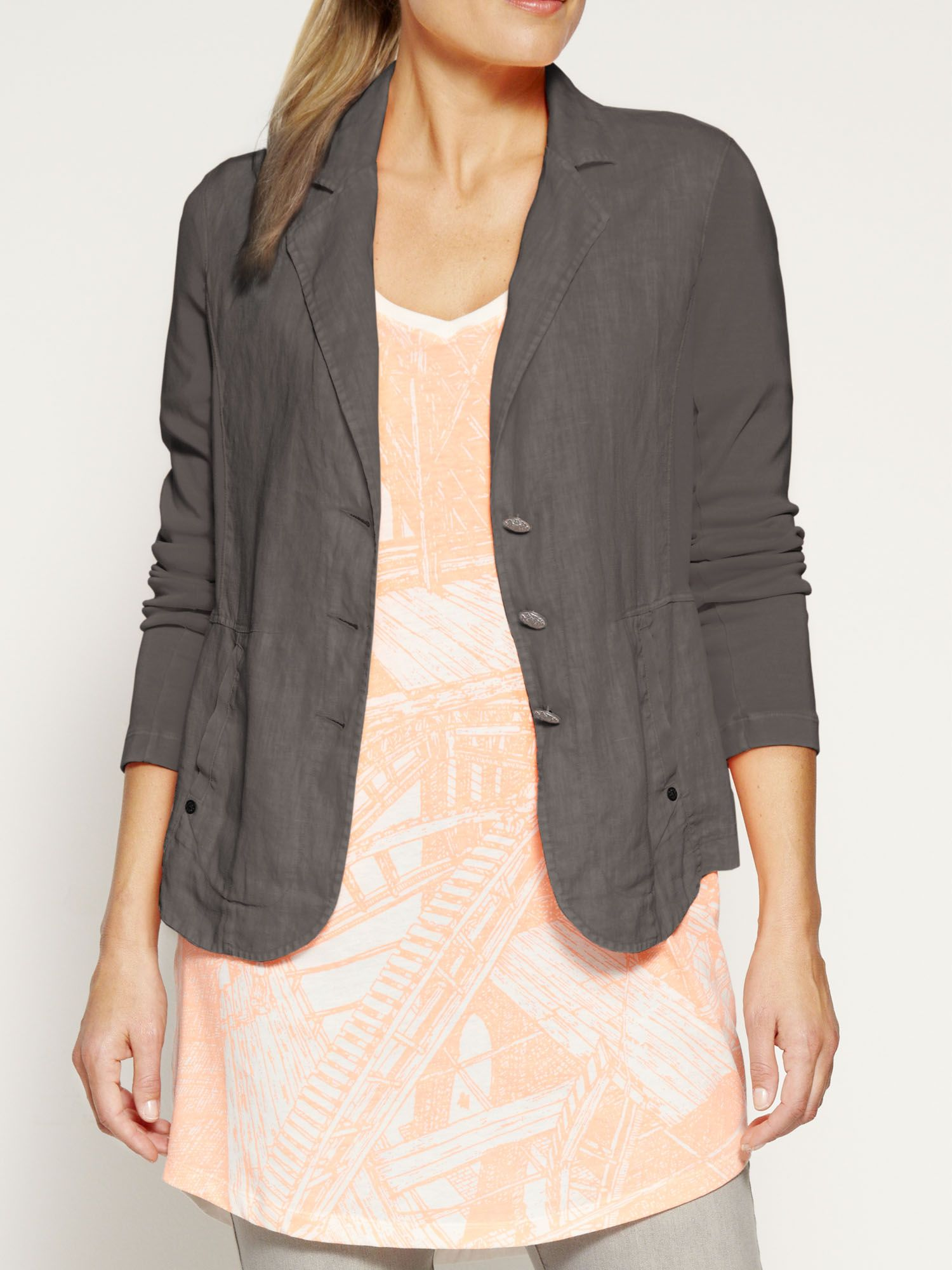 Cotton stretch jacket