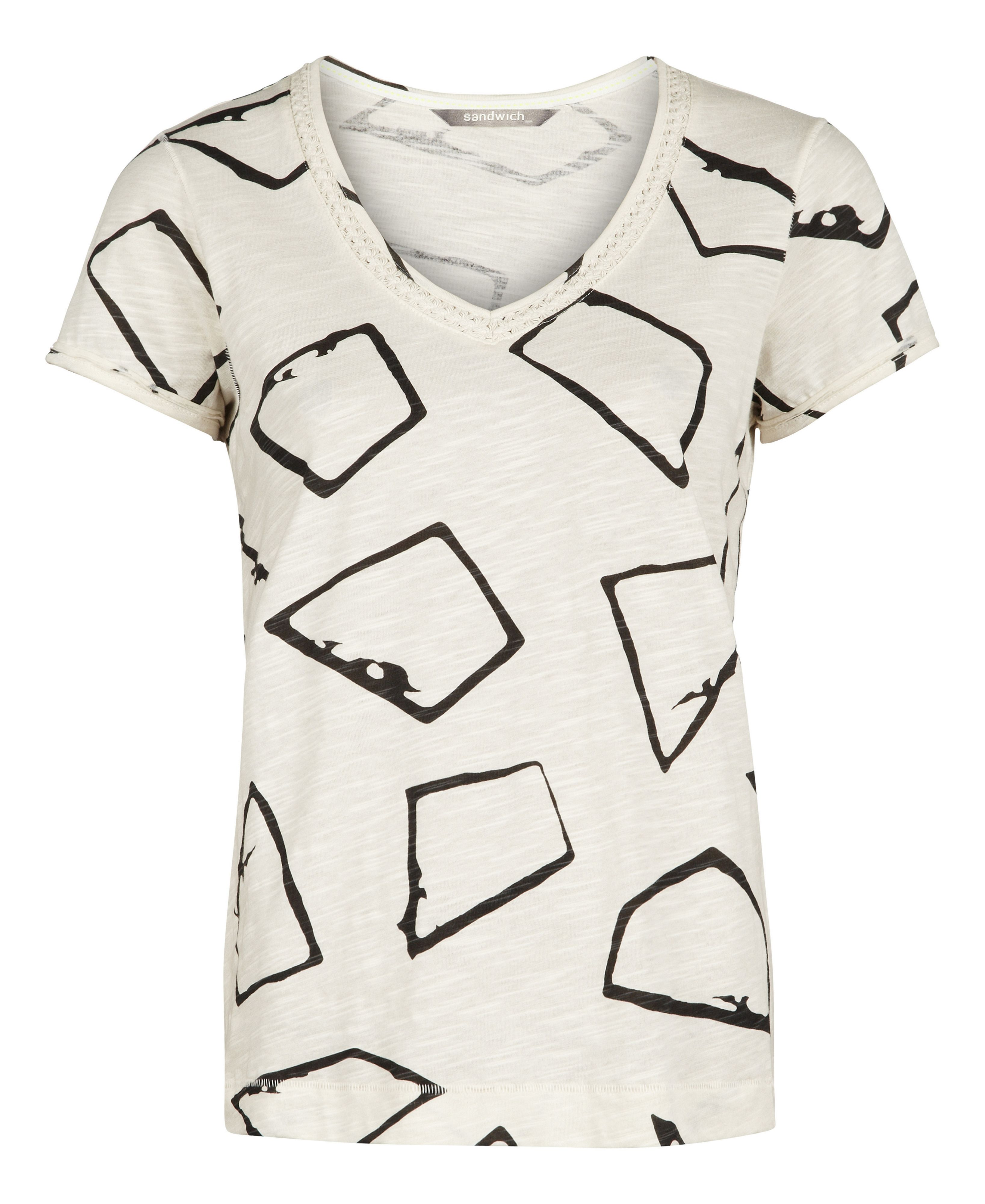 Printed short sleeve t-shirt