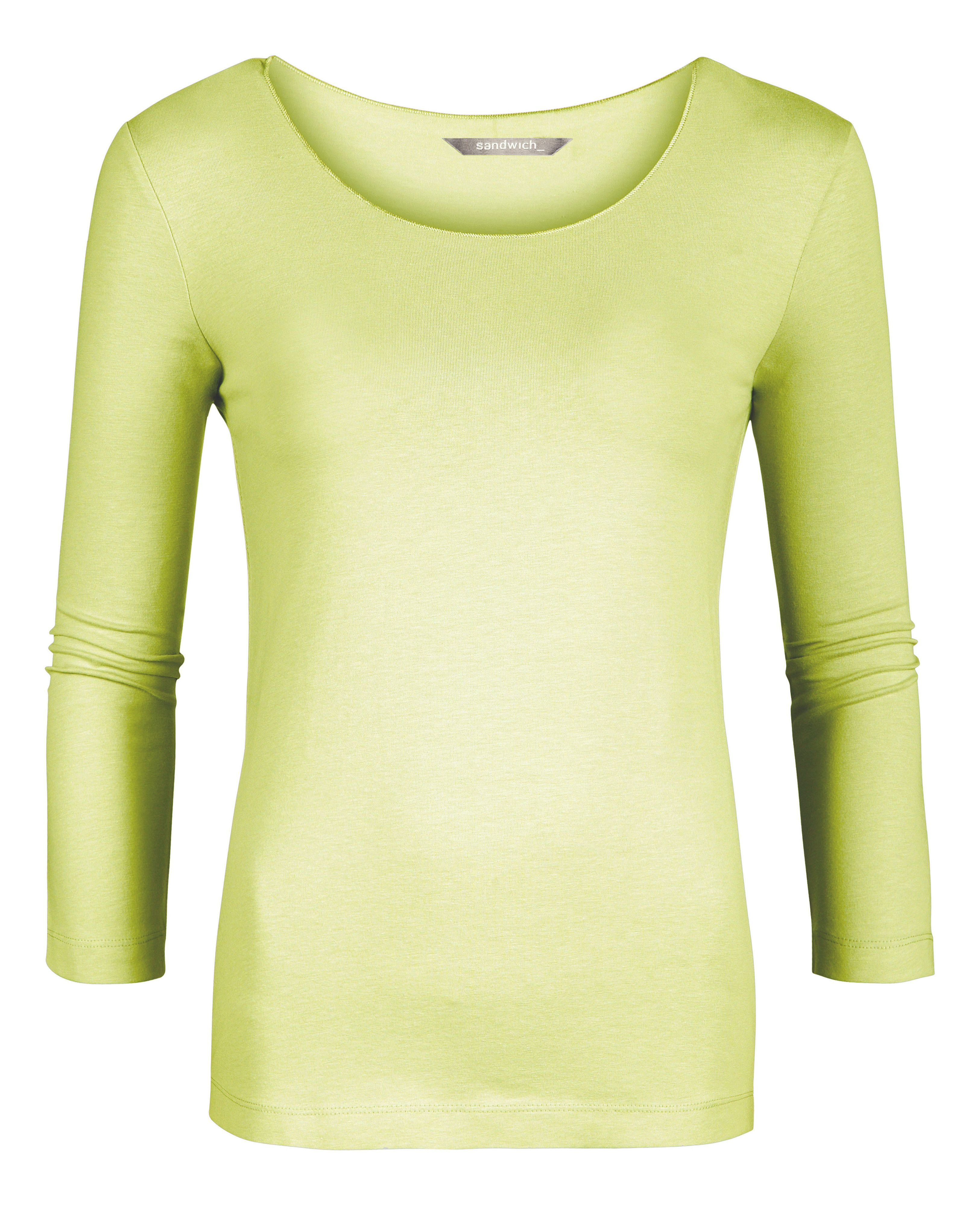 Cotton long sleeve t-shirt