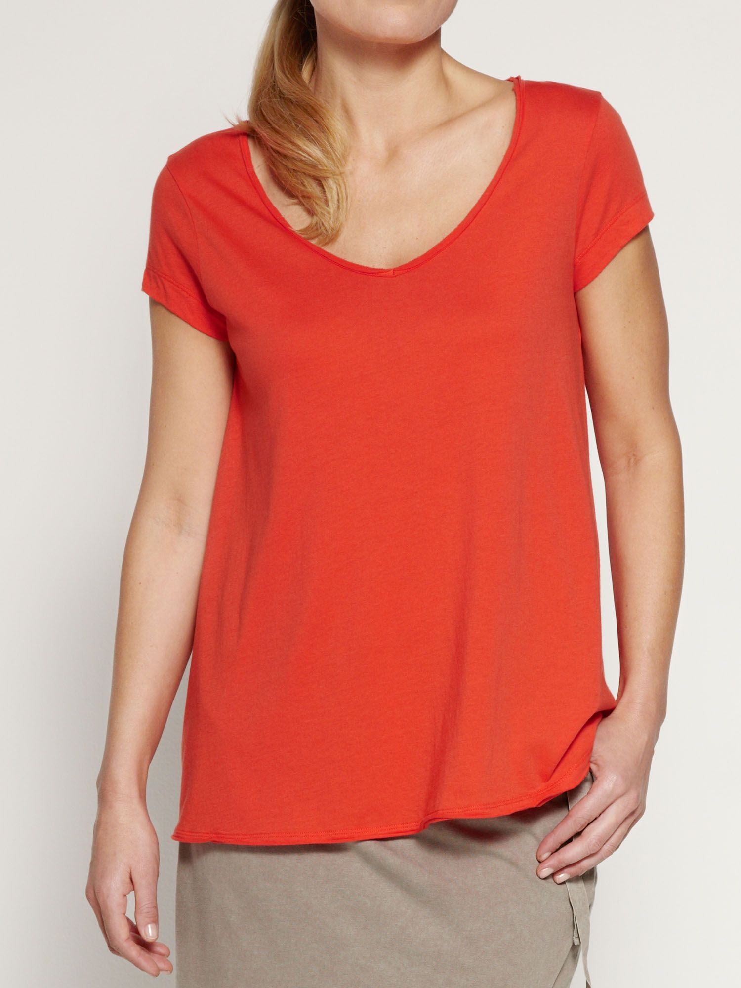 Loose fitting cotton t-shirt