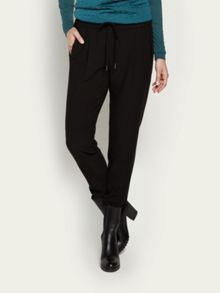 Stretch crepe trouser