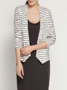 Lightweight stripe cardigan