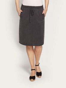 Skirt with stud detail